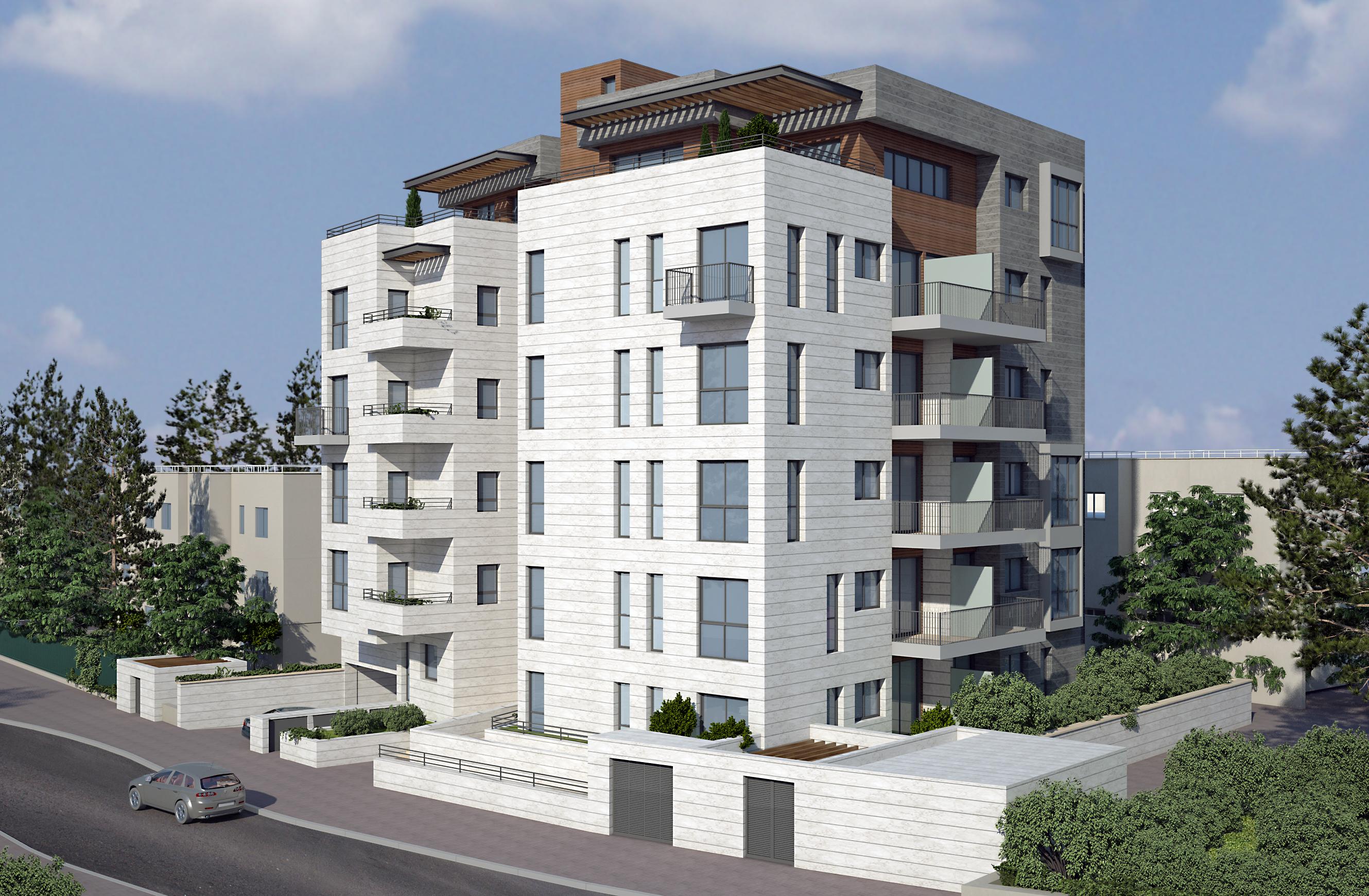 מעולה  למכירה מגרש לבנייה רוויה בירושלים - אשרובילד AshroBuild VN-98